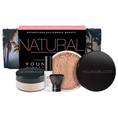 YOUNG BLOOD NATURAL Foundation Kit